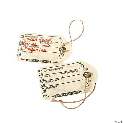 Drink Toe Tags