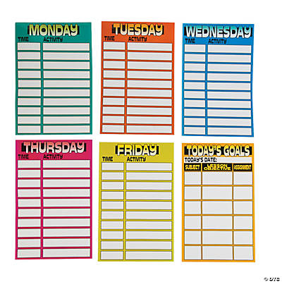 Dry Erase Daily Magnetic Planner