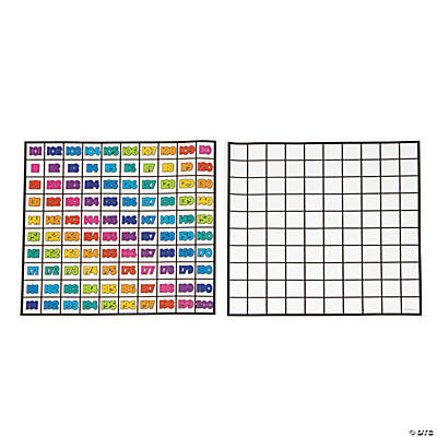 "Dry Erase ""101 - 200"" Sheets"
