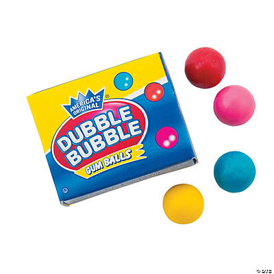 Dubble Bubble® Mini Gumball Boxes
