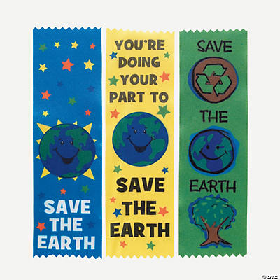 Earth Award Ribbons
