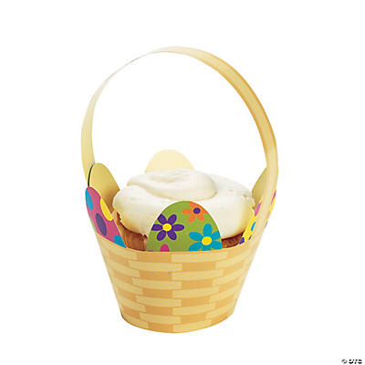 Easter Basket Cupcake Wrappers