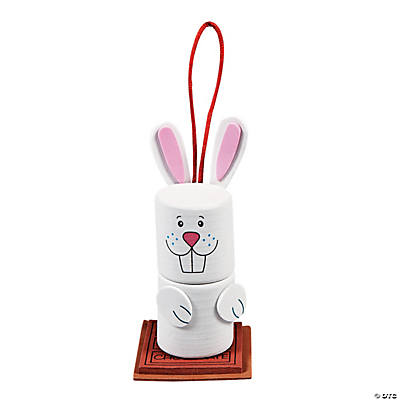 Easter Bunny Mallow Ornament Craft Kit