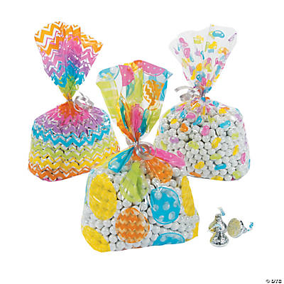 Easter Cellophane Bags