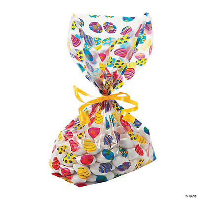 Easter Egg Goody Cellophane Bags