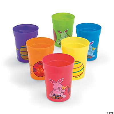 Easter Egg Plastic Cups
