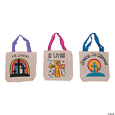 Easter Inspirational Printed Tote Bags