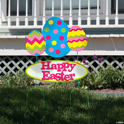 Easter Outdoor Yard Sign