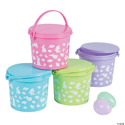 Easter Pails with Lid