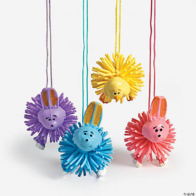 Easter Porcupine Character Necklaces