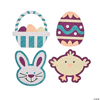 Easter Shapes Glitter Art Craft Kit