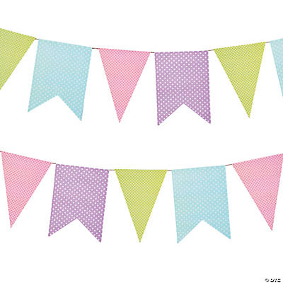 Easter Silhouette Pennant Banner