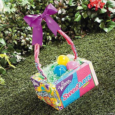 Easter basket idea edible easter basket idea negle Images
