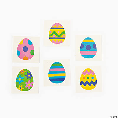 Egg-Cellent Easter Tattoos