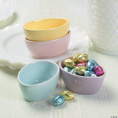 Egg-Shaped Dishes