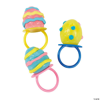Egg-Shaped Sucker Rings