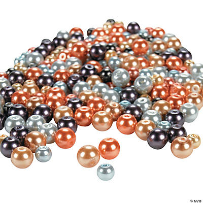 Elegant Pearl Bead Assortment - 5mm - 8mm
