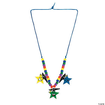 Elementary Graduation Star Necklace Craft Kit