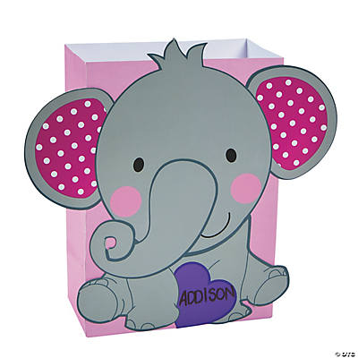 Elephant Valentine Card Holder Craft Kit Oriental Trading – Elephant Valentines Card