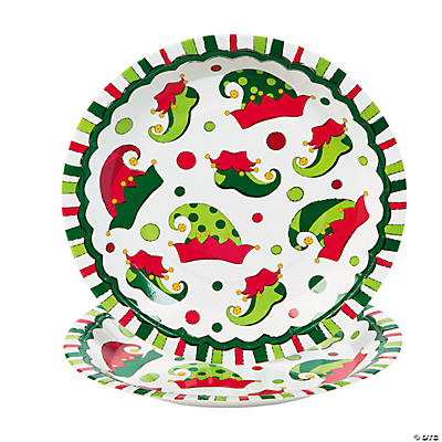 quickview · image of Elf Paper Dinner Plates with sku4/5384  sc 1 st  Oriental Trading & Nutcracker Christmas Paper Dinner Plates