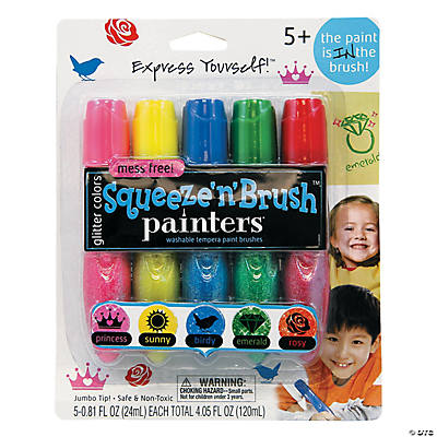 Elmer's<sup>®</sup> Glitter Squeeze'n'Brush<sup>™</sup> Painters<sup>®</sup> - Glitter