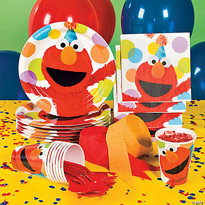 Elmo Party Basic Party Pack