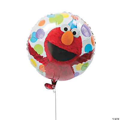 Elmo Party Mylar Balloon