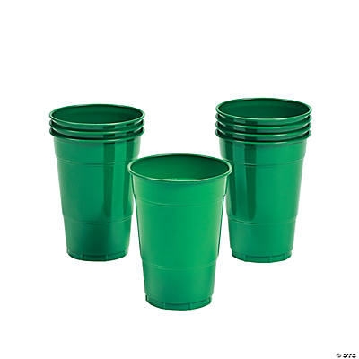 Emerald Green Cups