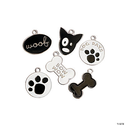 Enamel Dog Charms