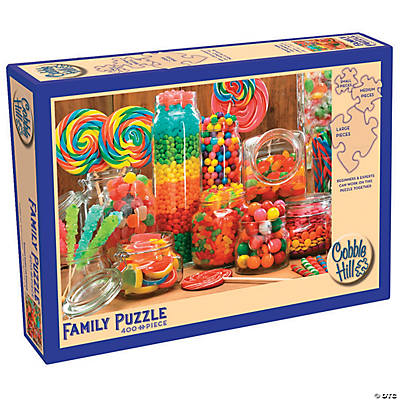 Enough Candy for Everyone 400-Piece Family Puzzle