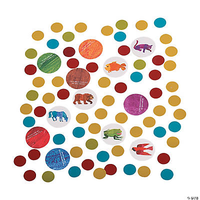 Eric Carle's Brown Bear, Brown Bear, What Do You See? Confetti