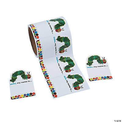 Eric Carle's The Very Hungry Caterpillar™ Name Tags