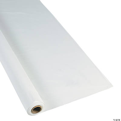 Extra Long White Tablecloth Roll
