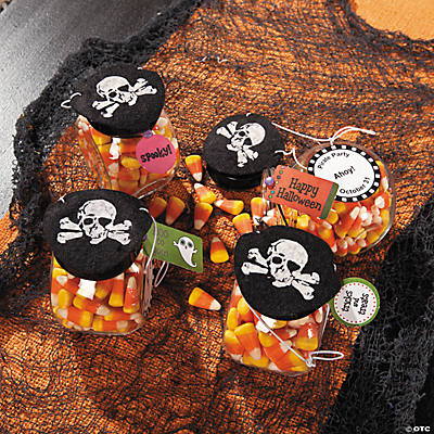 Eye Patch Candy Favors Idea