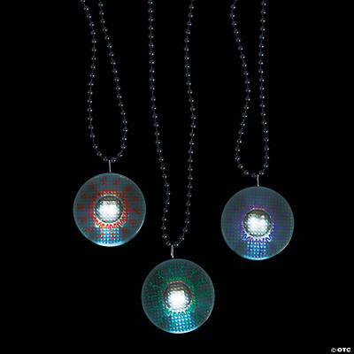 Eyeball Light-Up Necklaces