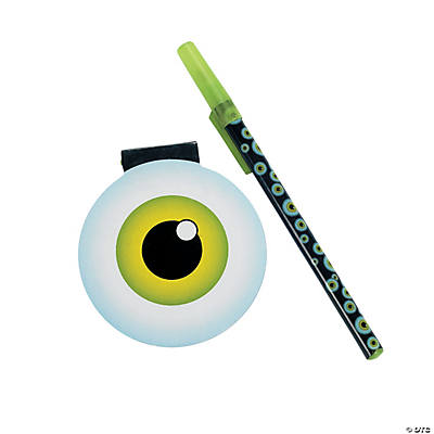 Eyeball Pen & Notepad Sets
