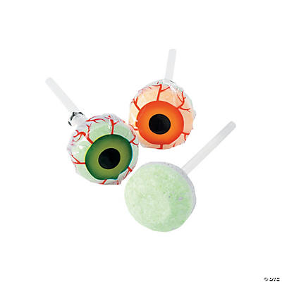 Eyeball Print Lollipops