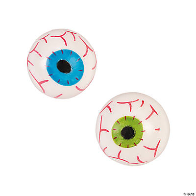 Eyeball Sticky Splat Balls