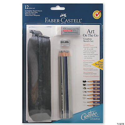 Faber-Castell On-The-Go Graphite Pencil Drawing Set