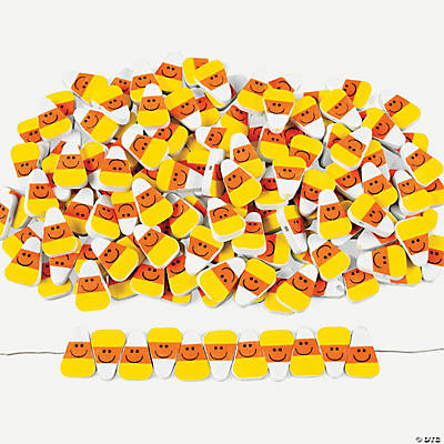 500 Fabulous Foam Candy Corn Bead Assortment