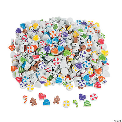 Fabulous Foam Gingerbread Beads