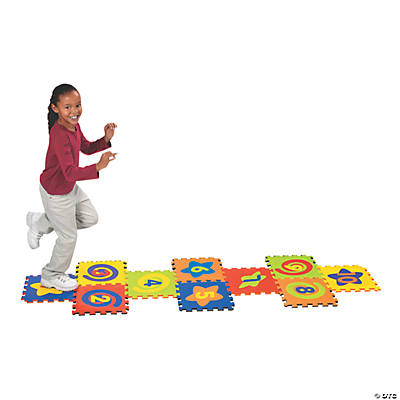 Fabulous Foam Hopscotch