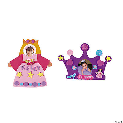 Fabulous Foam Princess Frames