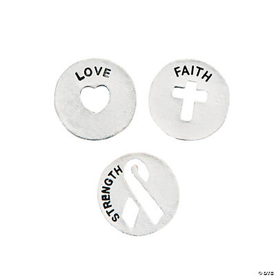 Faith Coin Charms