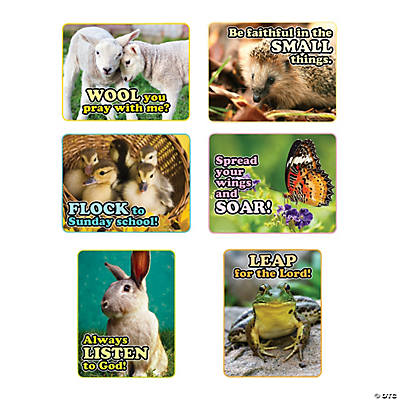 Faith Spring Animals Poster Set