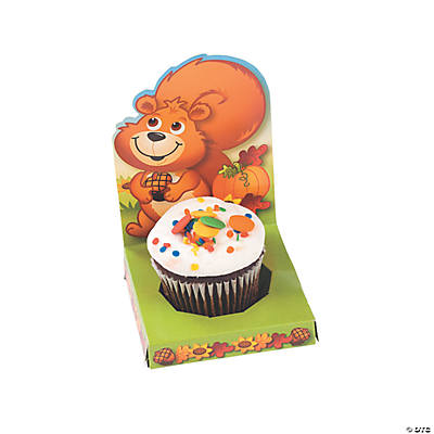 Fall Critters Cupcake Caddies