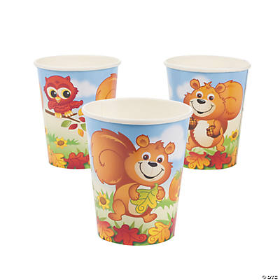 Fall Critters Cups