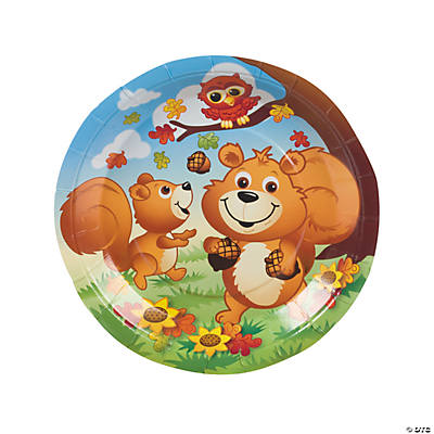 Fall Critters Dinner Plates