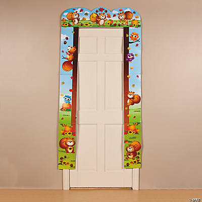 Fall Critters Door Border