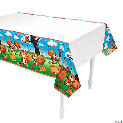 Fall Critters Tablecloth